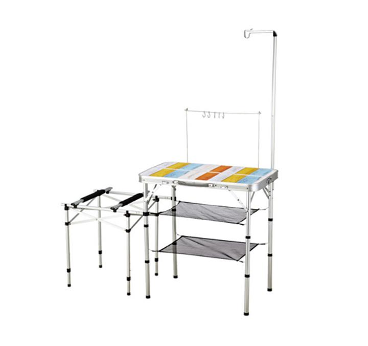 [AZA캠핑기획][코베아]2웨이 키친 테이블 Ⅱ (M) 이미지