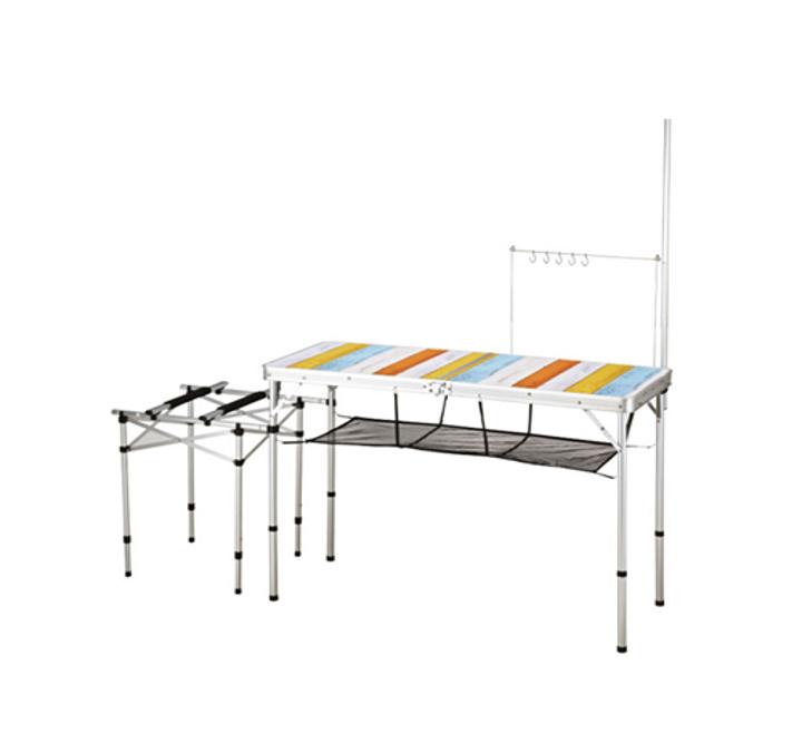 [AZA캠핑기획][코베아]2웨이 키친 테이블 Ⅱ (L) 이미지