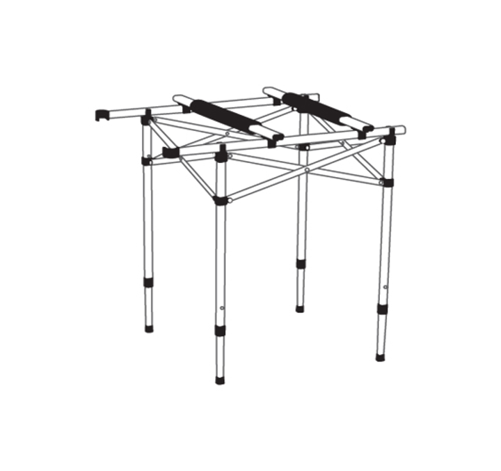 [AZA캠핑기획][코베아]2웨이 키친 테이블 스탠드 Ⅱ 이미지